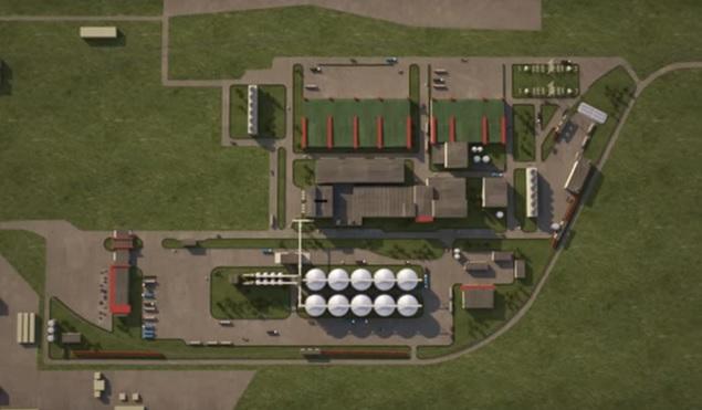 Новый завод глубокой переработки зерна под Ростовом